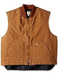 Carhartt Men's Big & Tall Sandstone Vest Arctic Quilt Lined V02