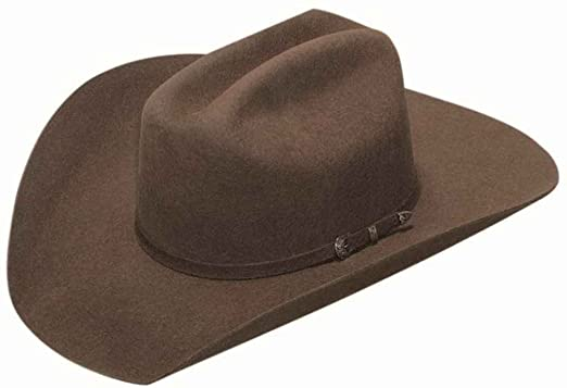 Twister Boys  Dallas Chocolate Felt Cowboy Hat - T7101047multi at Amazon  Men s Clothing store  db69b0ab554