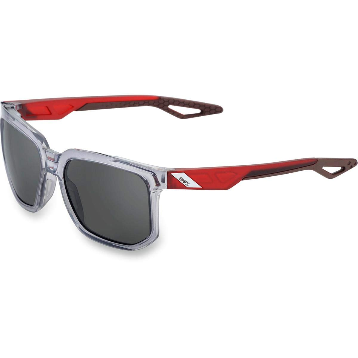 Centric-Polished Crystal Grey-Smoke Lens 61027-007-57 Gray Free Size 100/% Unisex-Adult Speedlab