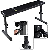 Goplus-Flat-Weight-Bench-Height-Adjustable-Heavy-Duty-Lifting-and-Ab-Workout-Padded-Bench