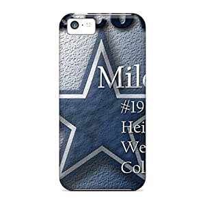 Durable Defender Case For Iphone 5c Tpu Cover(dallas Cowboys)