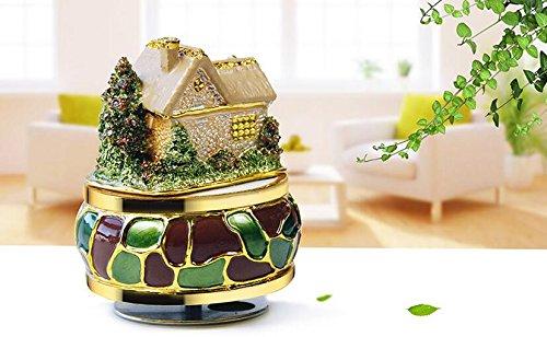 Udane Kreatives Feiertags-Geburtstags Home Decoration Persönlichkeit Haus Design Spieluhr für kreative Geburtstag Geschenke-Sommer