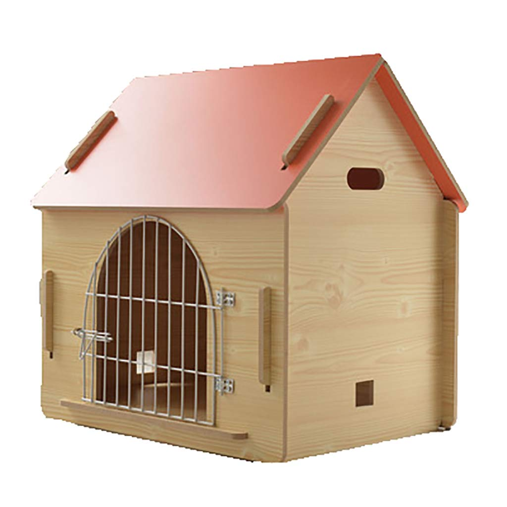 B 775575CM B 775575CM FPigSHS Cat nest kennel Pet house Small and medium pet nest delivery room Pet supplies waterproof Moisture proof Easy care Storable (color   B, Size   77  55  75CM)