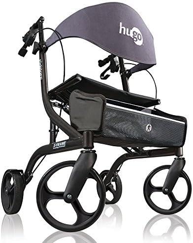 Amazon.com: Hugo Explore - Andador con ruedas y asiento, 700 ...