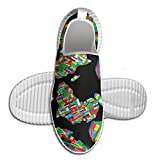 Africa Flag Colortone Men Running Shoes Print Sneakers Casual Breathable Sport Shoes