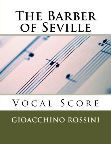 (The Barber of Seville (Il Barbiere di Siviglia) - vocal score (Italian/English) (English and Italian)