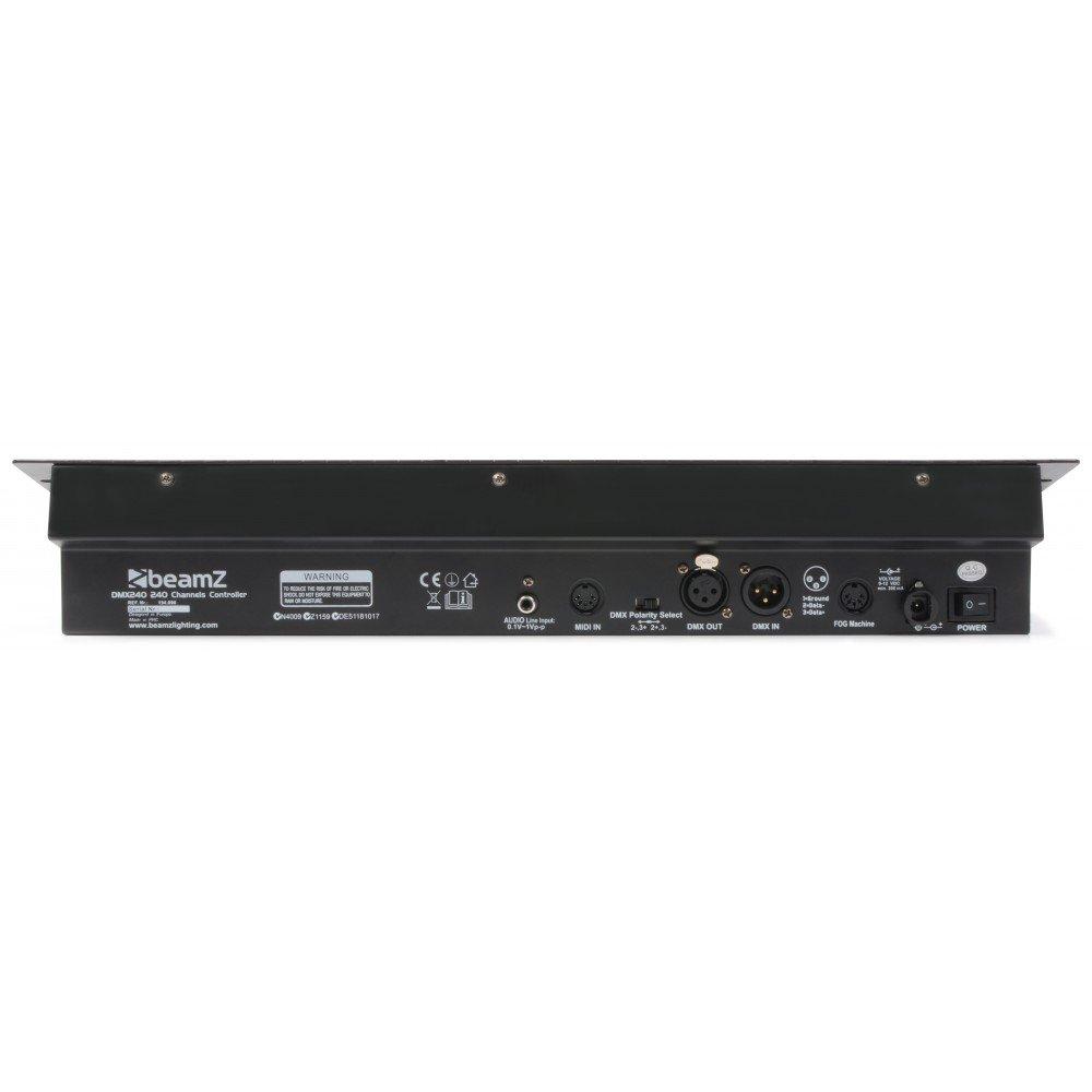 Beamz 154090 - Dmx-240 controlador dmx de 240 canales: Amazon.es: Instrumentos musicales