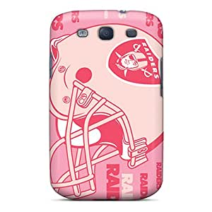 High-end Case Cover Protector For Galaxy S3(oakland Raiders)