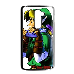 LG G2 Cell Phone Case Black The Legend of Zelda Ocarina of Time 002 GY9145702