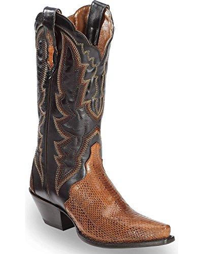 Dan Placera Sina Kvinnor Konjak Vatten Orm Triaden Cowgirl Boot Snip Tå Cognac 8,5 M