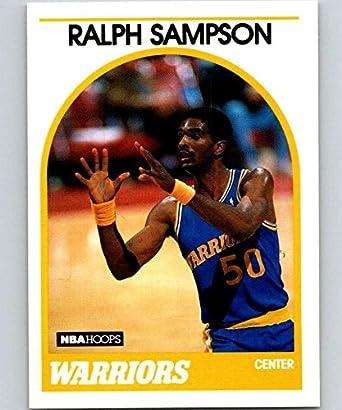 Verzamelingen 1988-89 Fleer #49 Ralph Sampson Golden State Warriors Basketball Card