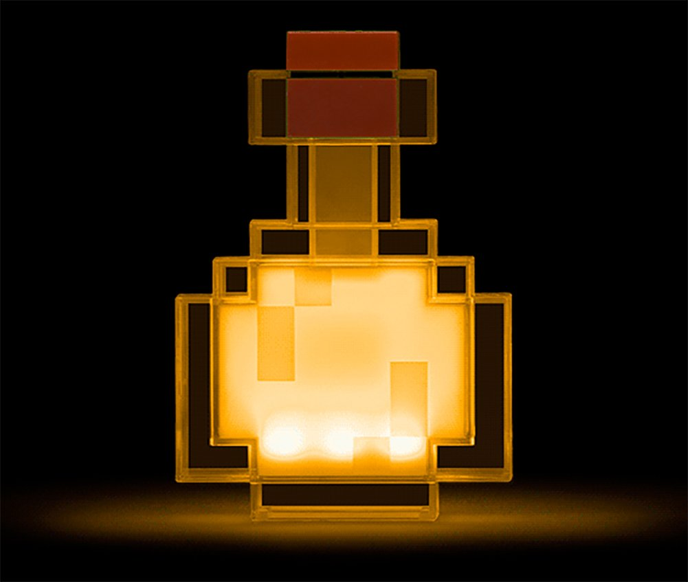 ThinkGeek Minecraft Color Changing Potion Bottle - Lights Up and Switches Between 8 Different Colors - Officially Licensed Minecraft Toys by ThinkGeek (Image #5)