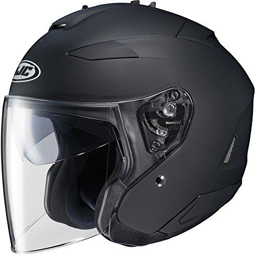 HJC IS-33 II Open-Face Motorcycle Helmet (Matte Black, Small) ()
