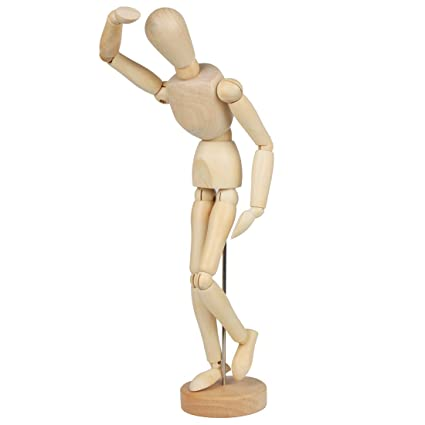 Amazon.com: Wooden Human Joints Mannequins MRMX-01 (32cm): Home ...