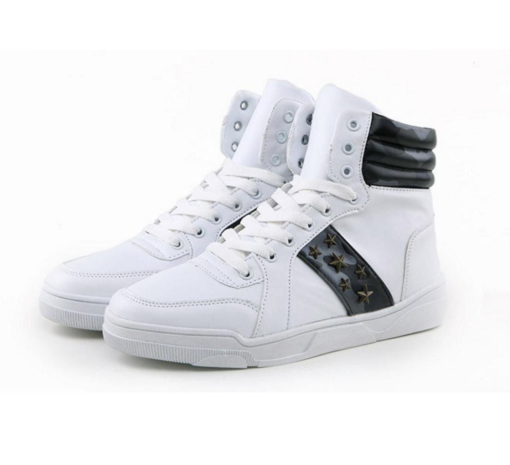 WZG Hommes haute pour aider chaussures de camouflage étudiants occasionnels chaussures de sport chaussures hommes chaussures chaussures en dentelle respirant