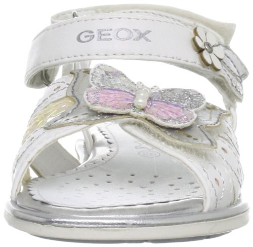 Silver Sand White Formal Kids Geox F Sandal giglio 'J 4z6xwPq