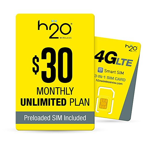 H2O Wireless H2O 30 SIM BUNDLE product image