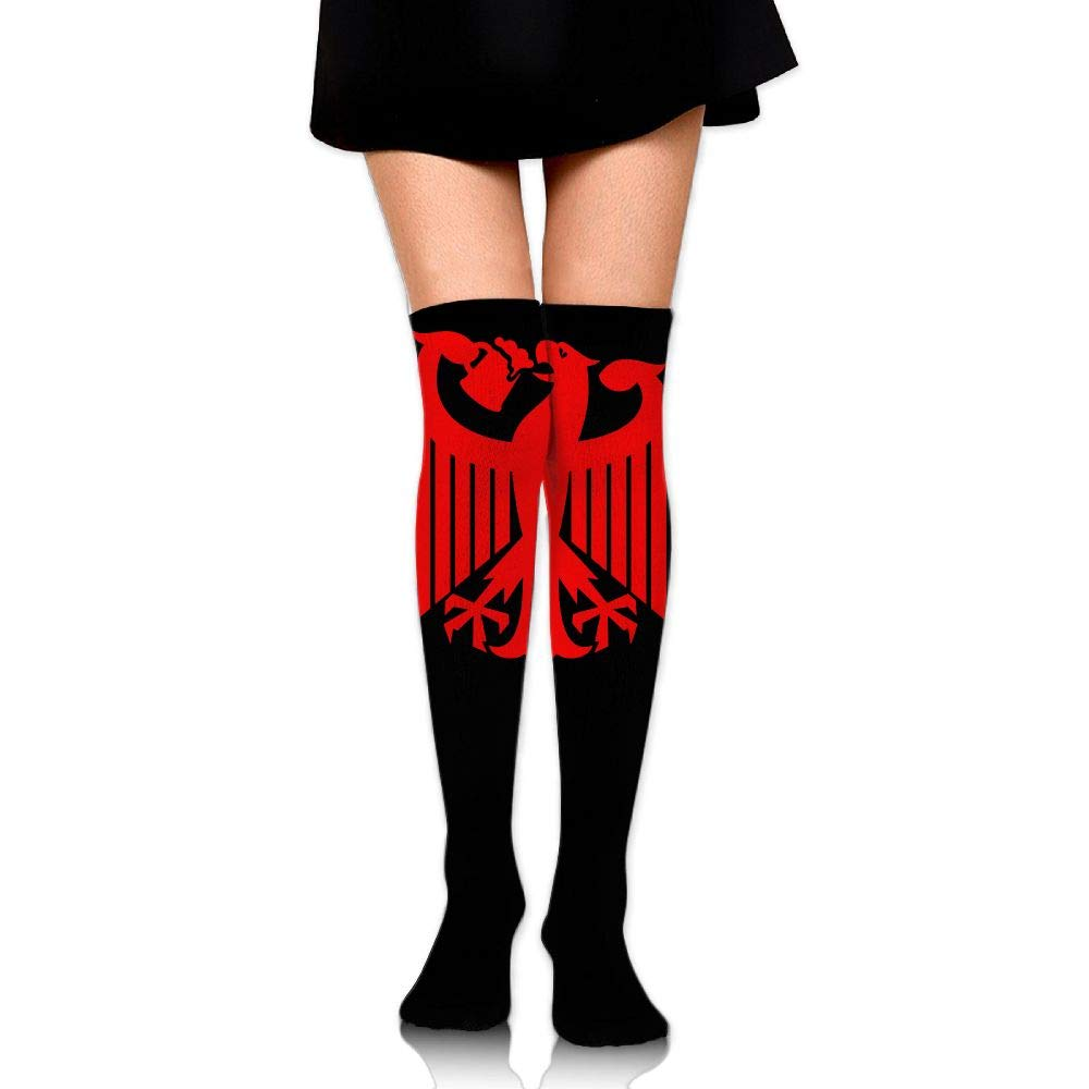 Germany Coat Of Arms Eagle Beer Women Knee High Socks Girls Compression Socks Thigh High Socks