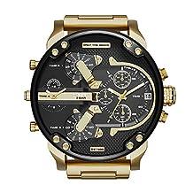 Diesel Men's DZ7333 Mr Daddy 2.0 Gold Watch