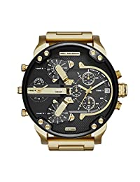Diesel Men's DZ7333 Mr Daddy 2.0 Gold Watch