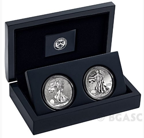 2013-W Silver Eagle West Point Set Reverse Proof & Enhanced Finish w/ Mint Box & COA