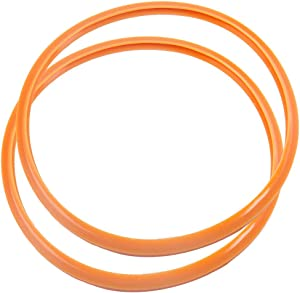 uxcell Pressure cooking Sealing Ring, 30cm Silicone Rubber Gasket Sealing Ring for Pressure cookings, Set of 2