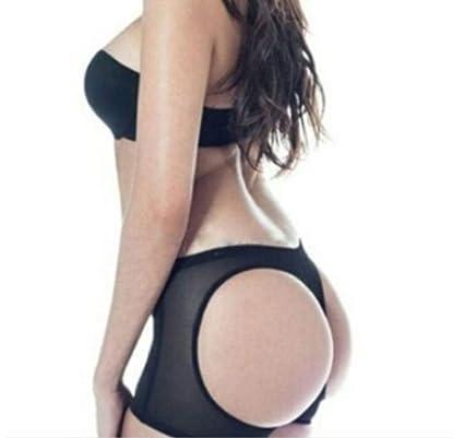 40ad7609d BoBoLing Women Sexy Butt Lifter Mesh See Through Butt Enhancer Tummy  Control Butt Shaper Ladies Booty