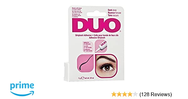 16bec85b0c6 Amazon.com : ARDELL Duo Eyelash Adhesive Dark Tone 0.25oz/7g : Fake  Eyelashes And Adhesives : Beauty