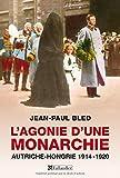 L'agonie d'une monarchie. Autriche-Hongrie 1914-1920