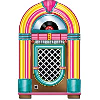 Beistle Jukebox Cutout Party Accesorio 3-Feet Tall | Impreso en ambos lados | (1-Count)