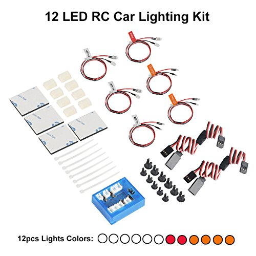 Scale Led Lighting System For Rc Helicopters