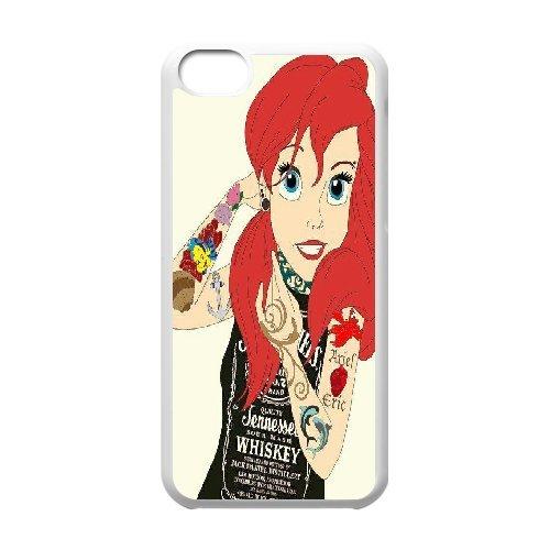 Kaktana de la Sirenita iPhone 5 C casos la Sirenita tatuaje, de la ...