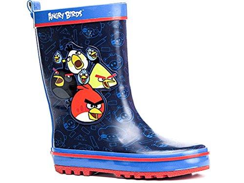 Angry Birds Regenstiefel, Gummistiefel Blau