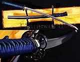 Handmade Maru Damascus Folded Steel Japanese Samurai Sword Katana