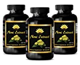 Product review for Natural energy booster - NONI EXTRACT 500Mg - anti-aging pill - - 3 Bottles 180 Capsules