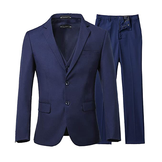 Amazon.com: Fitty Lell - Traje de hombre ajustado para boda ...
