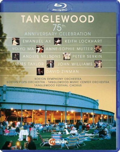 Blu-ray : Tanglewood 75th Anniversary Celebration (Blu-ray)