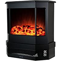 Golden Vantage 23 European Style Freestand Portable Modern Electric Fireplace Heater Stove EF330