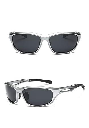 Zhuxin Deportes al Aire Libre Hombre Mujer Moda Gafas de Sol polarizadas Hombres Gafas de Sol