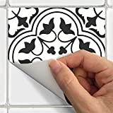SnazzyDecal Tile Stickers Portugese 24pc 4x4in Peel and Stick for kitchen and bath M025-4