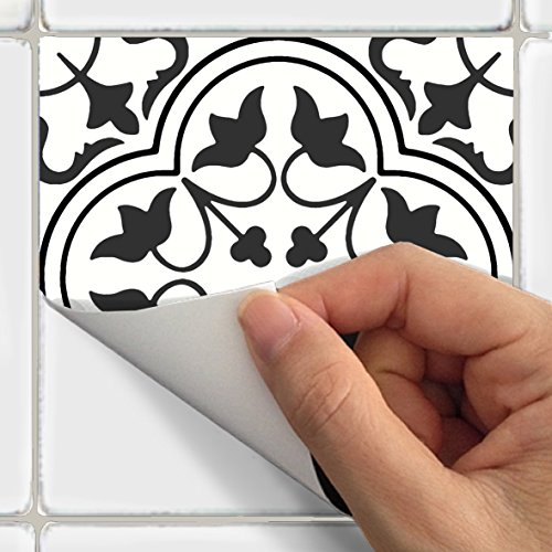 SnazzyDecal Tile Stickers Portugese 24pc 4x4in Peel and Stick for kitchen and bath M025-4 by SnazzyDecal