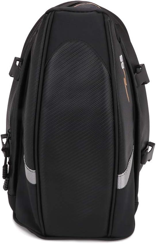 Jinyao durevole impermeabile per lo stoccaggio del casco multifunzionale zaino per casco ad alta capacit/à Borsa per sedile posteriore da moto