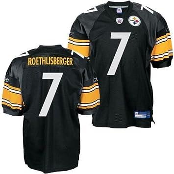 low priced 3e022 dbecb Amazon.com : Reebok Pittsburgh Steelers Ben Roethlisberger ...