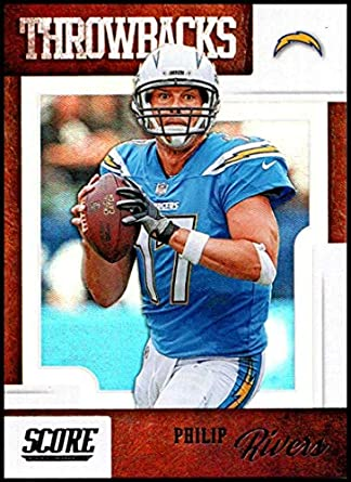new product f2ce2 1006c Amazon.com: 2019 Score Throwbacks #14 Philip Rivers NM-MT+ ...