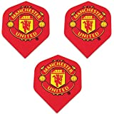 Art Attack Manchester United Soccer Football Premier League 75 Micron Strong Dart Flights (1 Set)