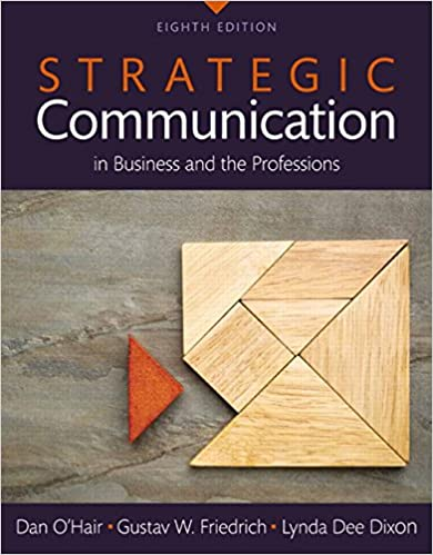 EPUB DOWNLOAD Strategic Communication In Business And The