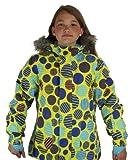 686 Mannual Echo Polyquilt Jacket – Women's Iris Plaid, M