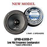 (2) AUDIOPIPE APMB-638SB-B ONE PAIR 6
