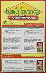 Armour Appian Way Regular Pizza Crust Mix and Pizza Sauce, 12.5 Ounce (Pack of 12)