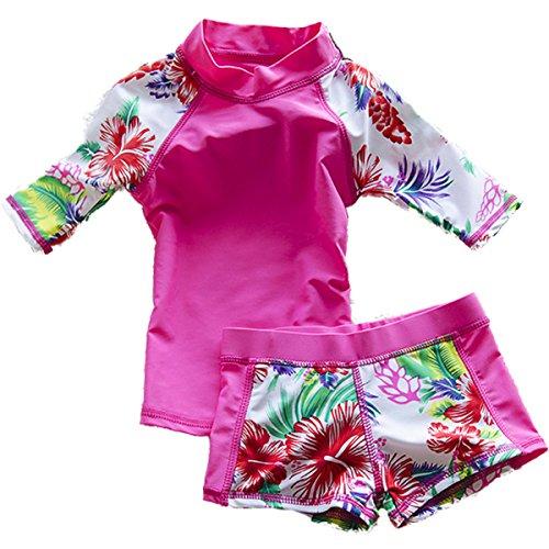 Girls Rash Guard Swimwear - 9